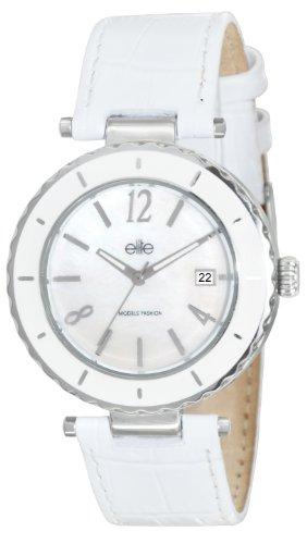 Elite Damen Armbanduhr E53332 211 Analog Quarz Weiss E53332 211
