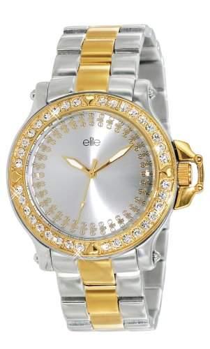 Elite Models Fashion-e53294g-304Damen-Armbanduhr 045J699Analog silber Armband Stahl zweifarbig