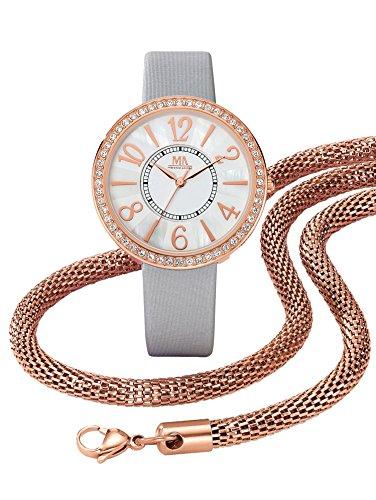 Damen 3tlg Uhren Schmuck Set by MeisterAnker
