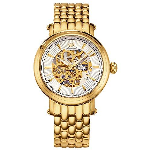Meister Anker Herren Uhr 23 0cm gelb Automatik Mineralglas 490000031