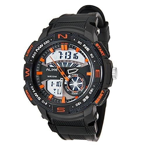 colofan ak15113 Sportuhr Damen und Herren Fashion Multifunktional Wasserdicht Luminous Elektronische Armbanduhr
