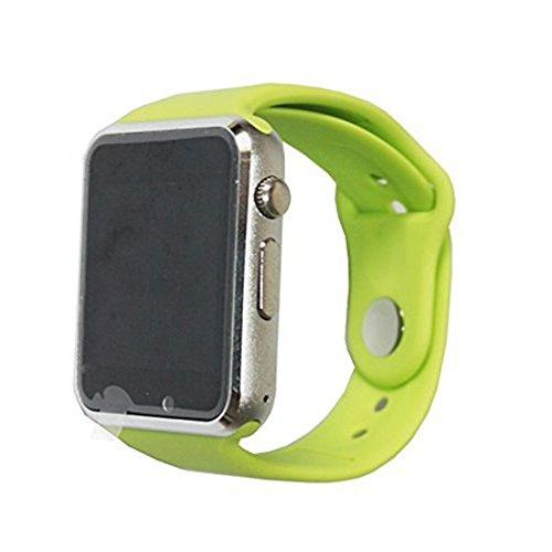 colofan C06 Damen und Herren Bluetooth Smart Uhren k nnen Plug Handy Card Telefon Kamera Sport Armbanduhr Schrittz hler gr n