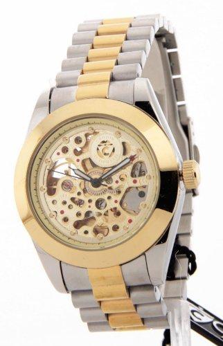 Mens Croton Imperial Geschenkartikel Edelstahl 21 Jewels Automatische Watch C1331059TTSK