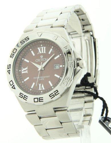 Kroton Mens Edelstahl Datum Laessig Watch CA301217SSBR