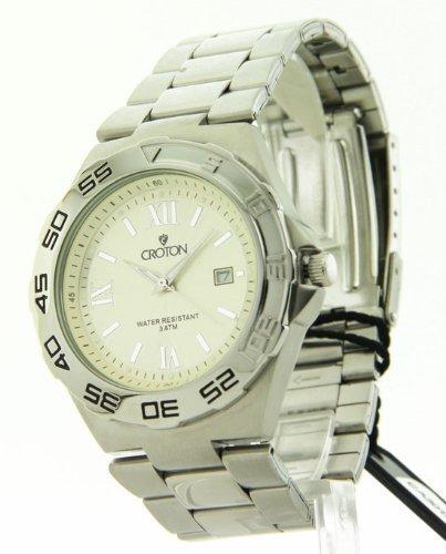 Kroton Mens Edelstahl Datum Laessig Watch CA301217SSPA