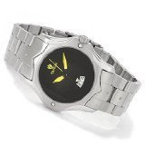 Kroton Maenner Quarz Schwarz Dial Stainless Steel Armband Watch CN307236SSYL