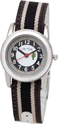 Cactus Jungen-Armbanduhr Analog schwarz CAC-35-M06