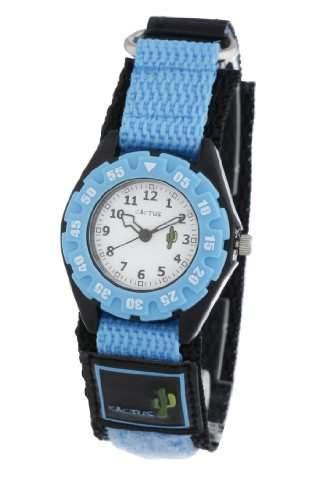 Cactus Unisex-Armbanduhr Analog Nylon blau CAC-38-M04
