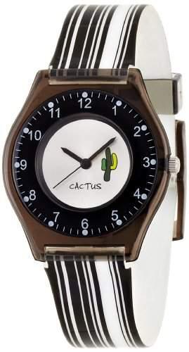 Cactus Kinder-Armbanduhr Analog Plastik schwarz CAC-40-L01