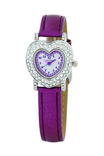Cactus Maedchen-Armbanduhr Analog Kunststoff violett CAC-43-L09