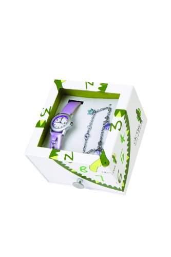Cactus Maedchen-Armbanduhr Analog Plastik Violett CAC-44-L09
