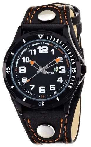 Cactus Unisex-Armbanduhr Analog Kunststoff braun CAC-50-M08