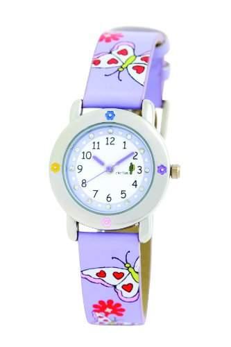 Cactus Maedchen-Armbanduhr Analog Kunststoff violett CAC-53-L09