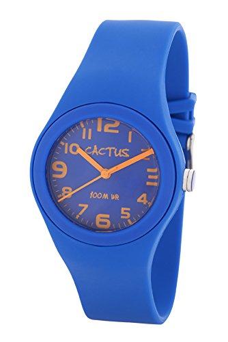 Cactus Kinder Armbanduhr Analog Plastik Blau CAC 76 M03