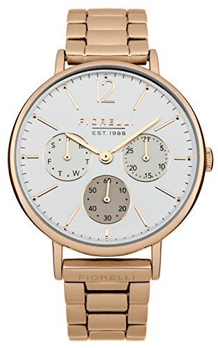 Fiorelli Damen Armbanduhr Analog Quarz FO002RGM