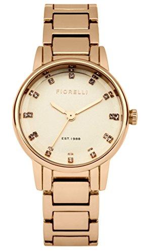 Fiorelli Damen Armbanduhr Analog Quarz FO020RGM