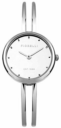 Fiorelli Damen Quarzuhr mit Silber Zifferblatt Analog Anzeige und Silber Legierung Armband fo030sm