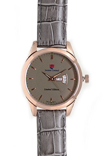 JACQUES COSTAUD CHAMPS ELYSEES Rose Gold JC C3RGGL08 Mens Watch