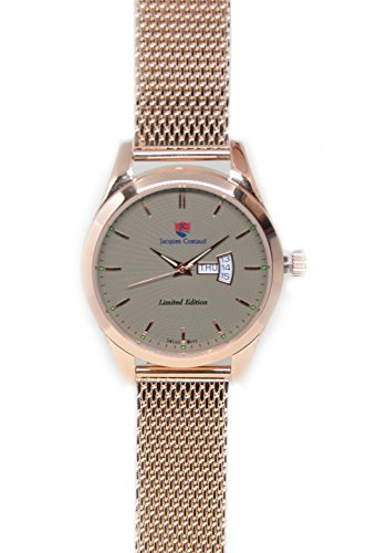 JACQUES COSTAUD CHAMPS ELYSEES Rose Gold JC C3RGGS03 Mens Watch
