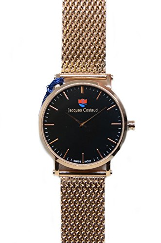 JACQUES COSTAUD DOLCE VITA LUSSO Rose Gold JC L1RGBS01 Mens Watch