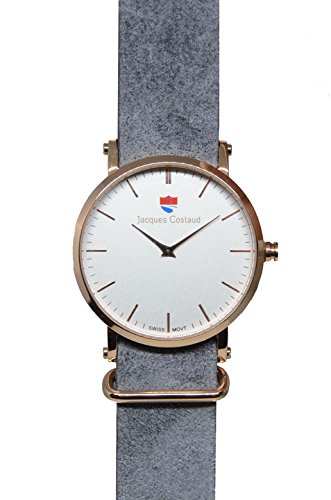 JACQUES COSTAUD DOLCE VITA LUSSO Rose Gold JC L1RGWD02 Mens Watch