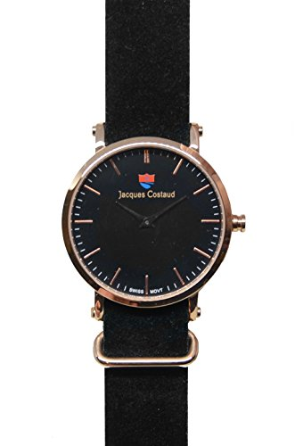 JACQUES COSTAUD DOLCE VITA LUSSO Rose Gold JC L2RGBD03 Mens Watch