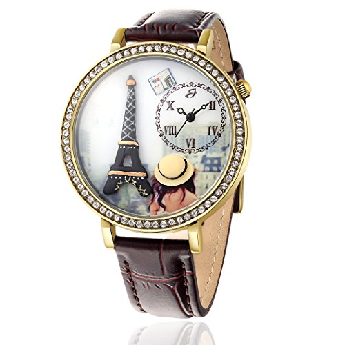 Bw147 Luca Barra Uhr Damen Eiffel