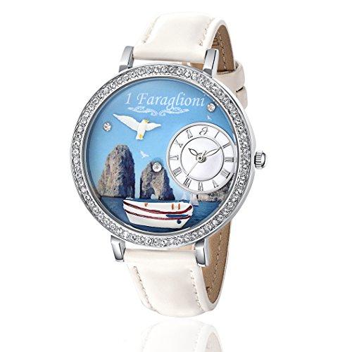 BW155 Luca Barra Uhr Damen Capri die Faraglioni