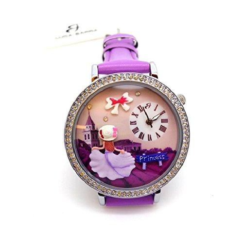 bw167 Luca Barra Damen Uhr mit Zifferblatt 3d