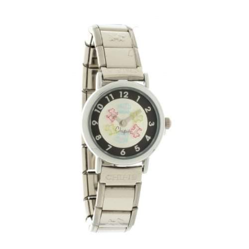 Chipie-5206009-Maedchen Armbanduhr Analog-Zifferblatt Armband Metall silber