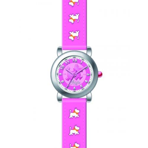 Chipie Maedchen Armbanduhr Analog Kunststoff rosa 5203516