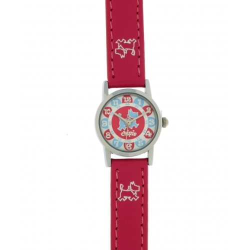Chipie Maedchen Armbanduhr Analog Kunststoff rosa 5209402