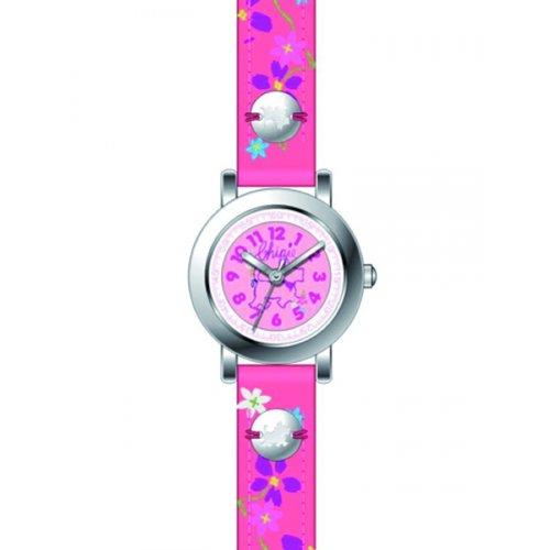 Chipie Maedchen Armbanduhr Analog Kunststoff rosa 5209502