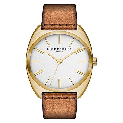 LIEBESKIND BERLIN Unisex Uhr Armbanduhr Leder LT 0058 LQ
