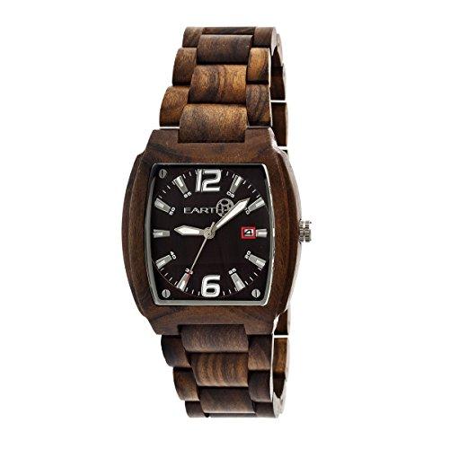Earth Armbanduhr Analog Holz ETHEW2402 dark brown