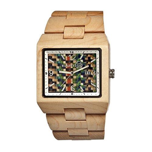 Earth Armbanduhr Analog Holz ETHEW1205