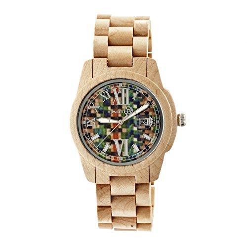 Earth Armbanduhr Analog Holz ETHEW1505 khaki tan