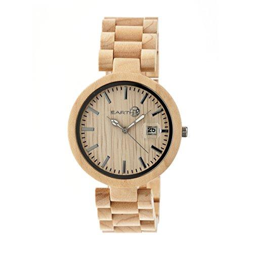 Earth Armbanduhr Analog Holz ETHEW2201 khaki tan