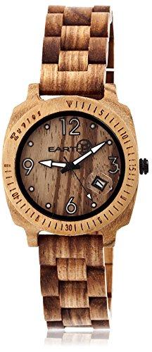 Earth Armbanduhr Analog Holz ETHEW2301 brown
