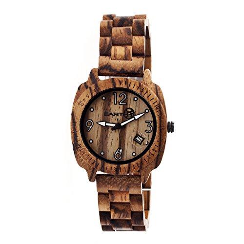 Earth Armbanduhr Analog Holz ETHEW2302 brown