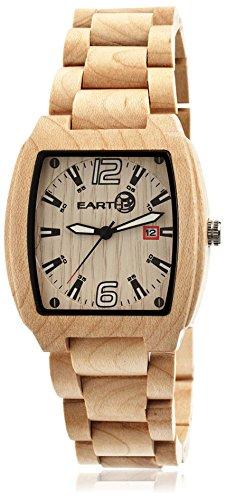 Earth Armbanduhr Analog Holz ETHEW2401 khaki tan