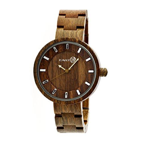 Earth Armbanduhr Analog Holz ETHEW2504 olive