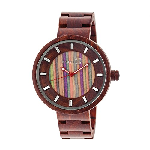Earth Armbanduhr Analog Holz ETHEW2507 red