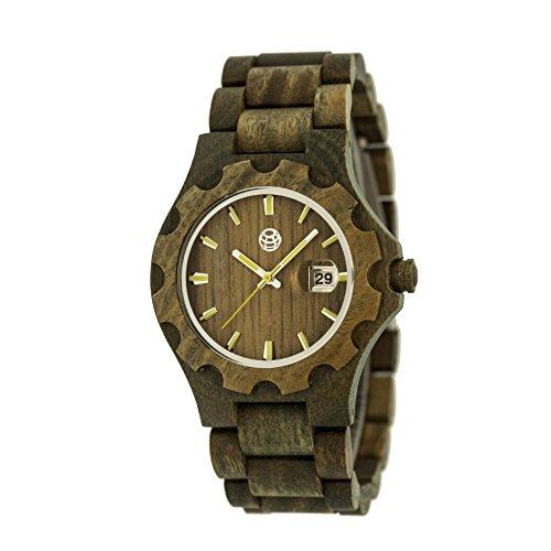 Earth Armbanduhr Analog Holz ETHEW3304 olive