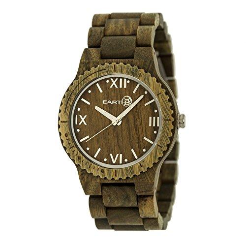 Earth Armbanduhr Analog Holz ETHEW3504 olive