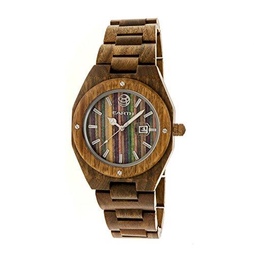 Earth Armbanduhr Analog Holz ETHEW4004 olive