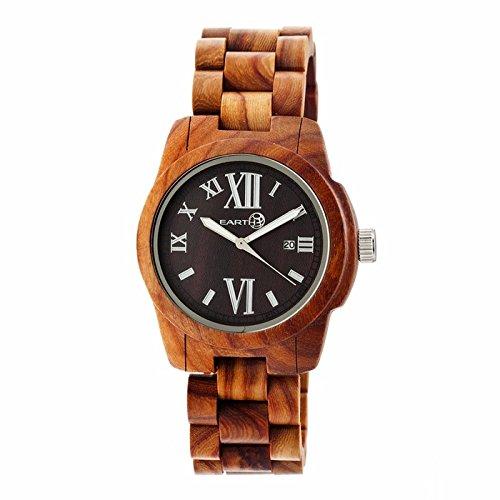 Earth Erde Kernholz Eco friendly dunkel Brown Holz Kernholz Unisex Watch EW1503