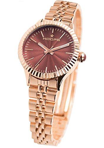 2560lg01 Hoops Uhr Damen Luxury Gold