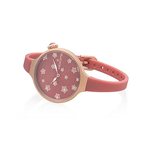 Uhr Damen Icon Flowers Pink 2562lf 05 Hoops