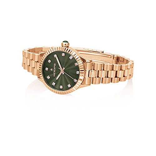 Uhr Damen Luxury Diamonds Rose Gold Gruen 2569ld rg04 Hoops